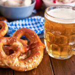 Oktoberfest beer and pretzels | fall events in Austin